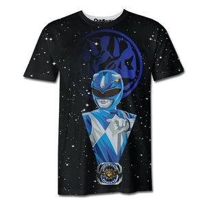 Playera Pijama Blue Ranger All Stars - QUIUBOLEE