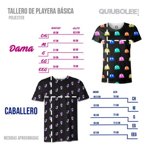 Playera Carlitos