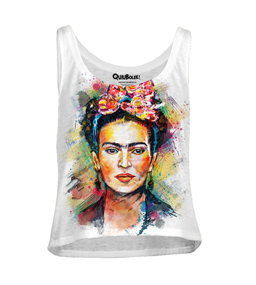 Crop Top Frida Kahloo