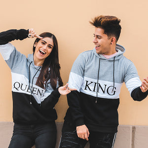 Sudadera TriColor King/Queen