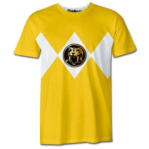Playera Pijama Power Ranger Amarillo - QUIUBOLEE