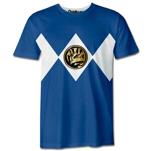 Playera Pijama Power Ranger Azul