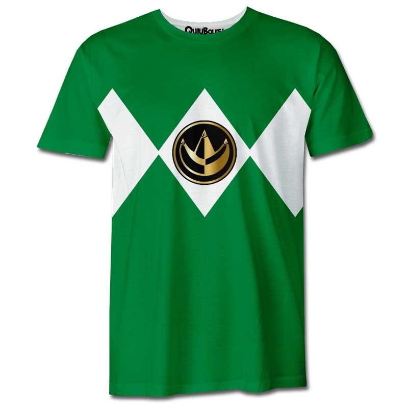 Playera Pijama Power Ranger Verde