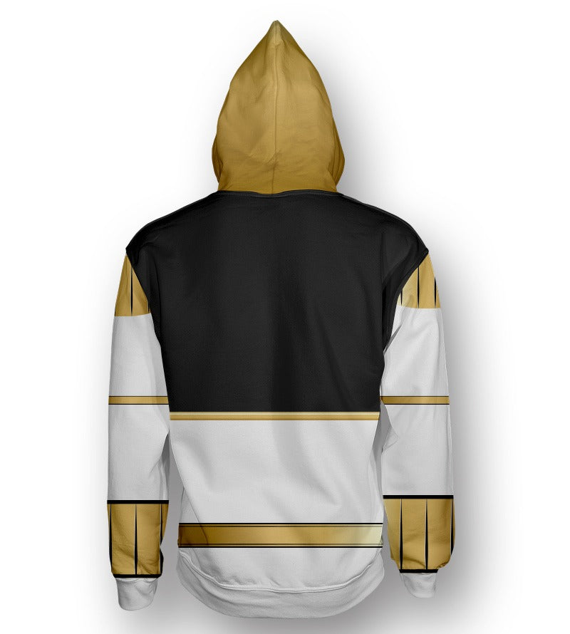 Sudadera Power Rangers White Ranger Blanco