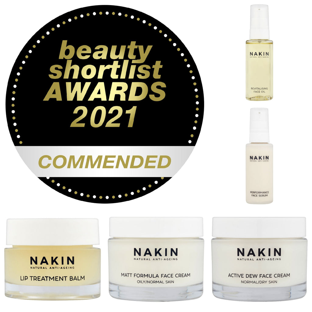 Nakin's Commended Beauty Products 2021