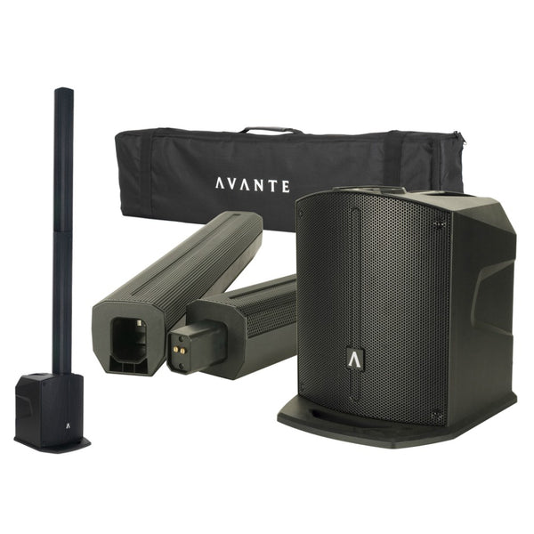 Avante AS8 800w Portable Array PA System-Portable PA-DJ Supplies Ltd