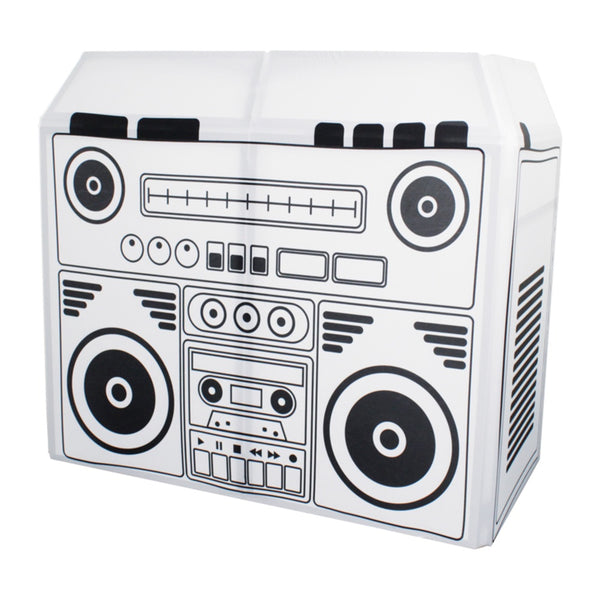 Equinox DJ Booth Boom Box Lycra Scrim-Stand Accessories-DJ Supplies Ltd