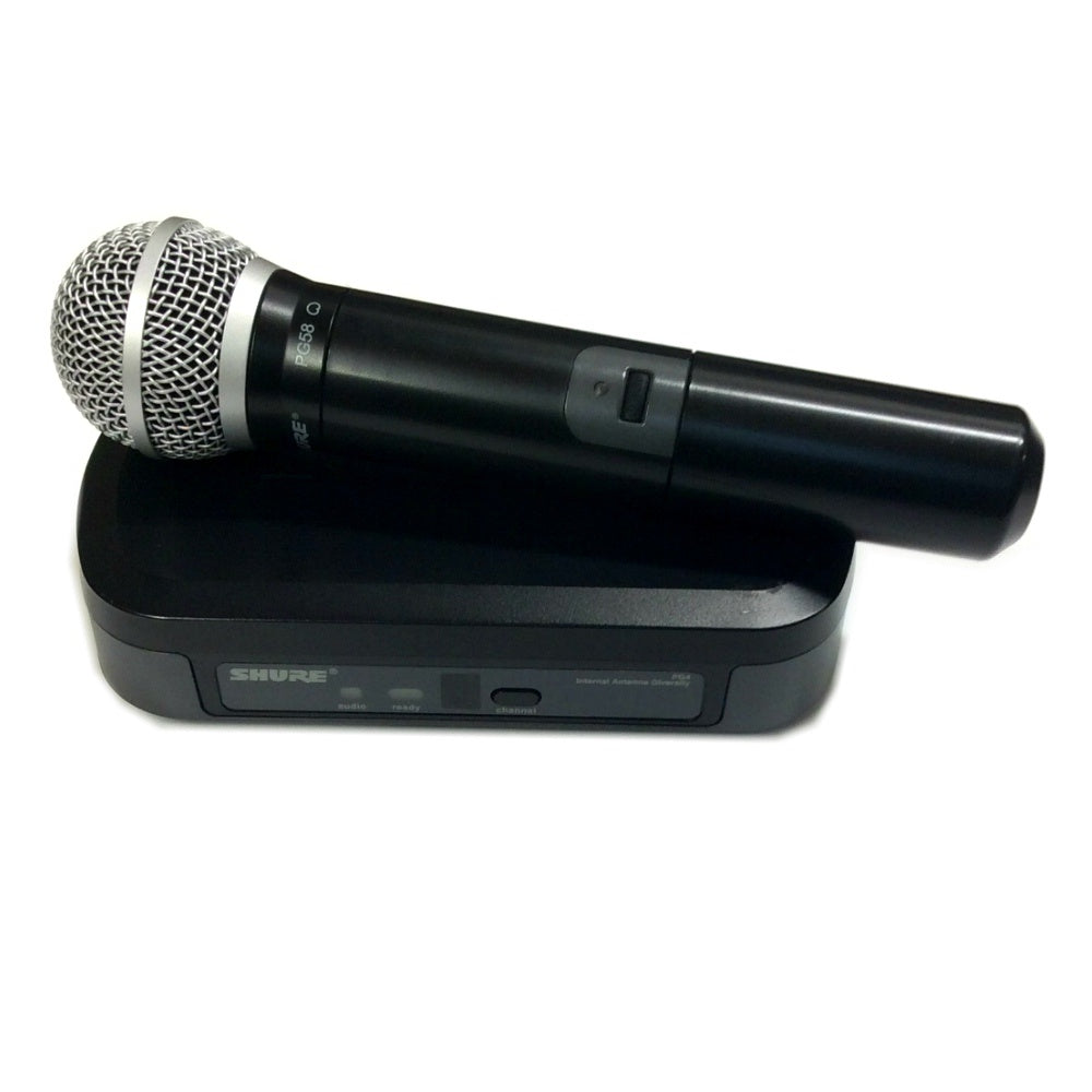 Shure PG24/PG58 Wireless Microphone (Used)-Wireless Microphones-DJ Supplies Ltd