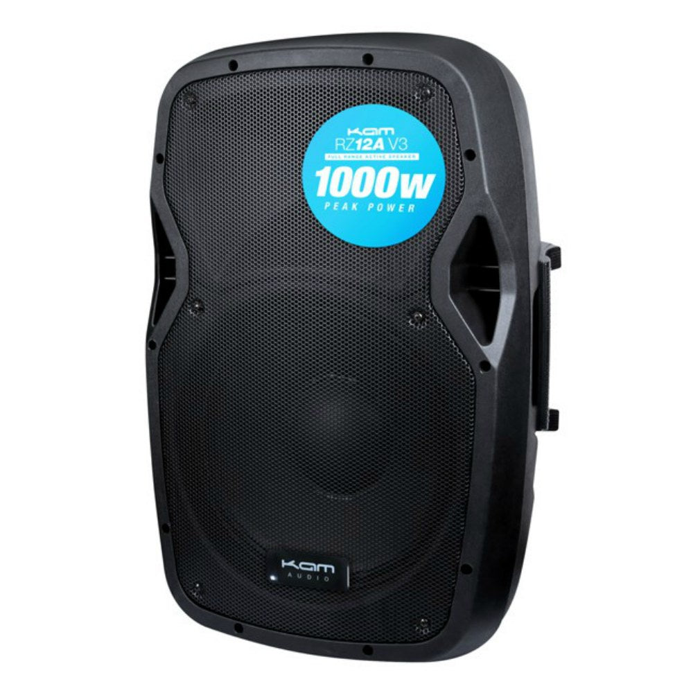KAM RZ12A V3 1000w Active Loudspeaker-Active Speakers-DJ Supplies Ltd