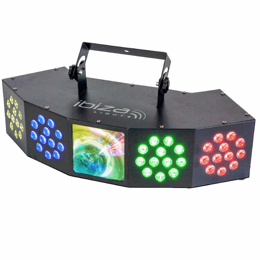 Ibiza Combi FX4 (3 in 1 Light)-Lighting-DJ Supplies Ltd