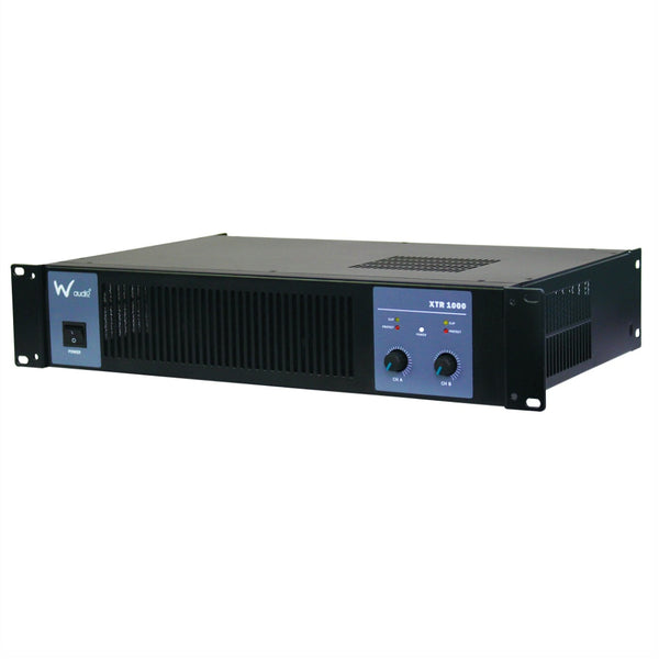 W Audio XTR1000 Amplifier 1Kw-Amplifiers-DJ Supplies Ltd