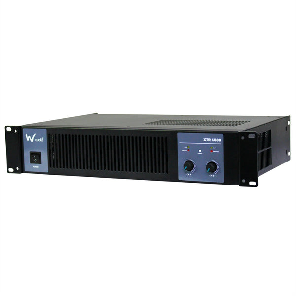 W Audio XTR1500 Amplifier 1.5Kw-Amplifiers-DJ Supplies Ltd
