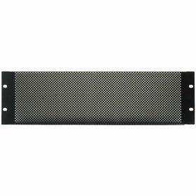 3U Rack Mesh Vent Plate-Rack Parts-DJ Supplies Ltd