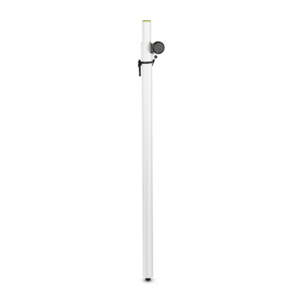 Gravity SP2342W White Adjustable Speaker Pole-Stand Accessories-DJ Supplies Ltd