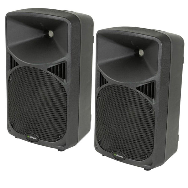 Citronic CD10 Passive Speakers 240w (Pair)-Speakers-DJ Supplies Ltd