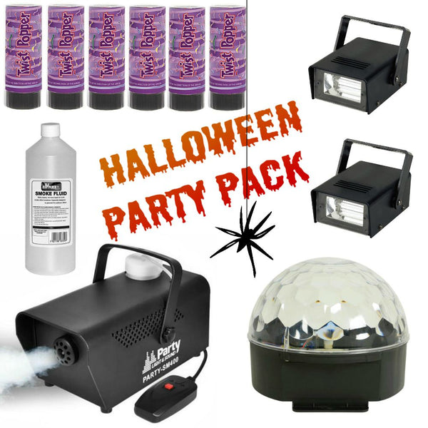 Halloween Party Pack-Lighting-DJ Supplies Ltd