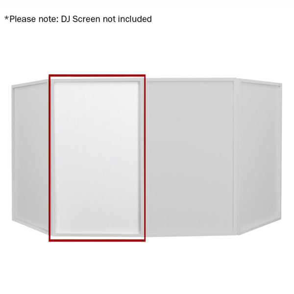 Replacement DJ Screen Lycra Scrim-Stand Accessories-DJ Supplies Ltd