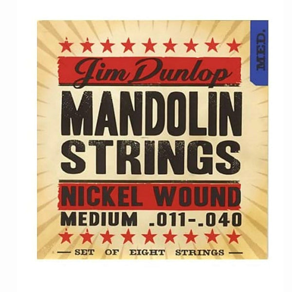 Dunlop Phosphor Bronze Mandolin Strings-Accessories-DJ Supplies Ltd