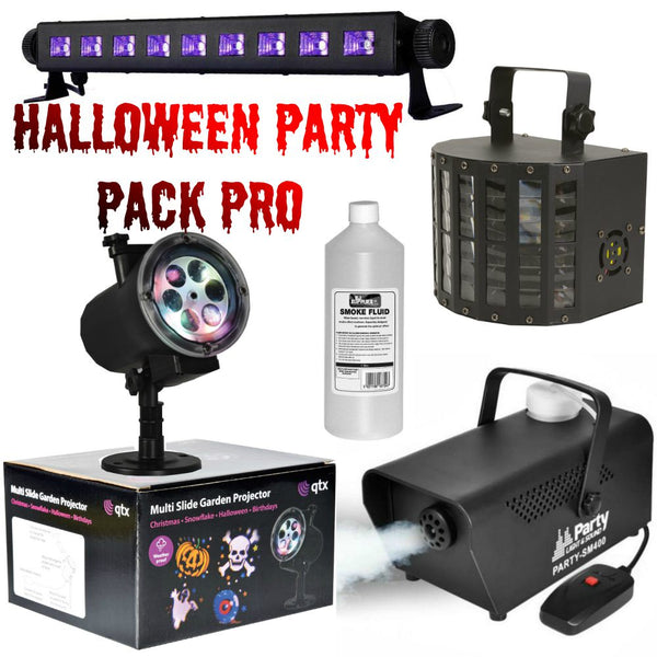 Halloween Party Pack Pro-Lighting-DJ Supplies Ltd
