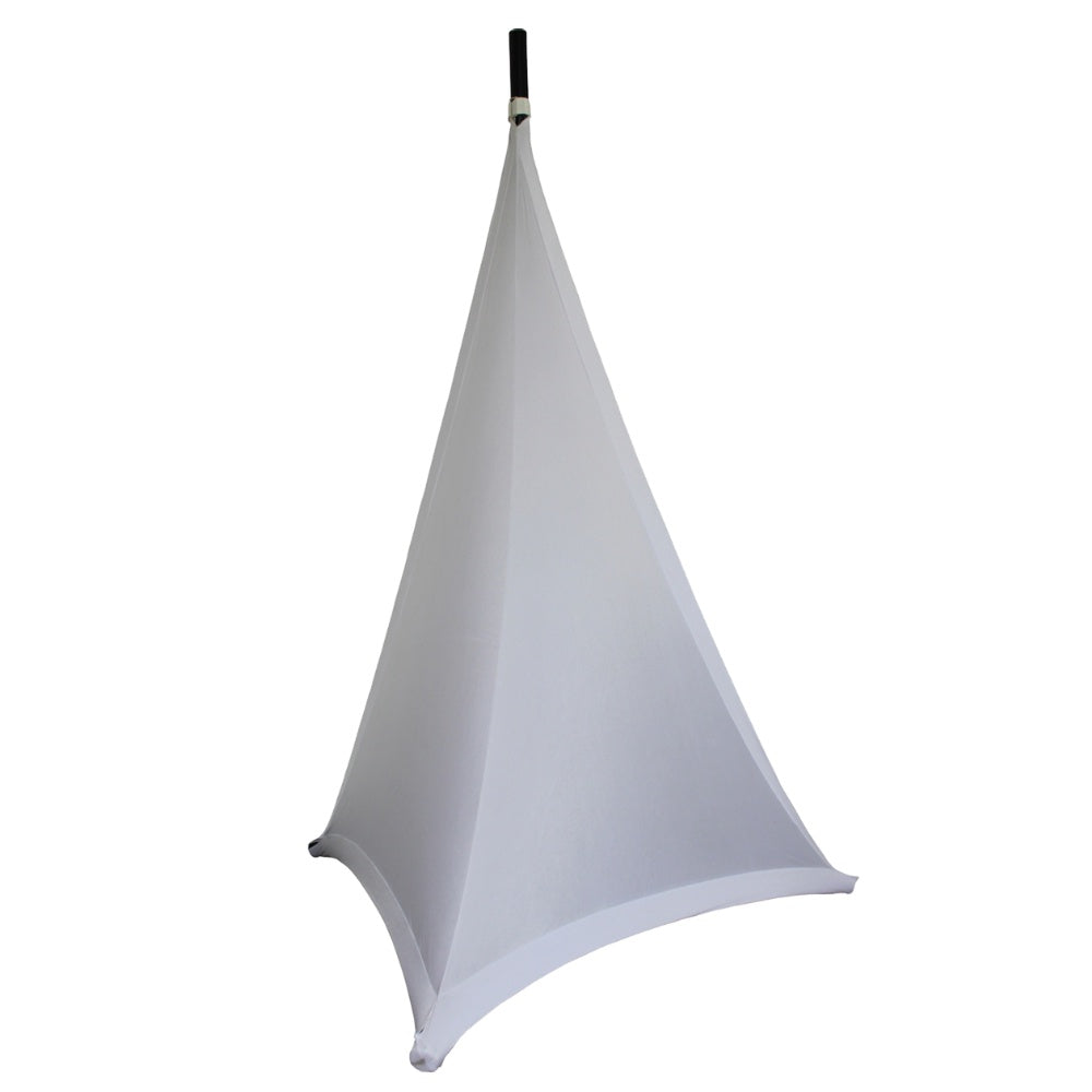 White 3 Sided Stand Scrim-Stand Accessories-DJ Supplies Ltd