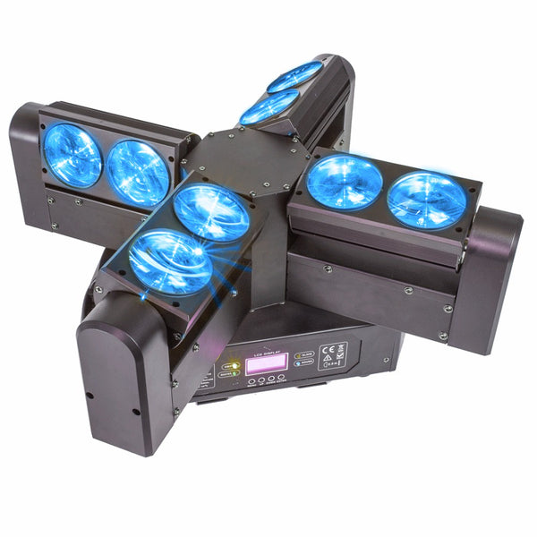 AFX Blade 8 FX 4 Head Beam Moving Head-Lighting-DJ Supplies Ltd