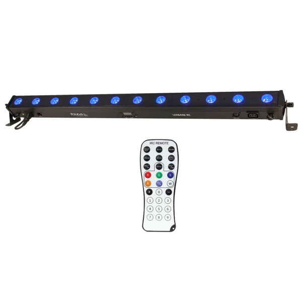 Ibiza LEDBAR12 RC 1m Batten-Lighting-DJ Supplies Ltd