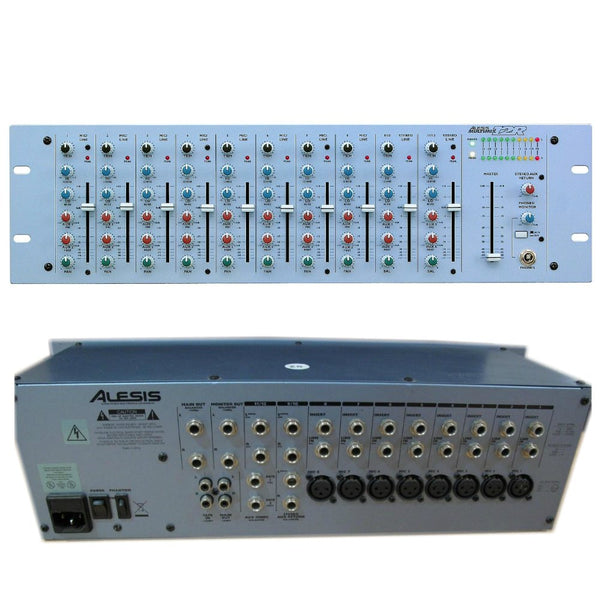 Alesis Multimix 12R Rack Mixer (Used)-Live Mixers-DJ Supplies Ltd