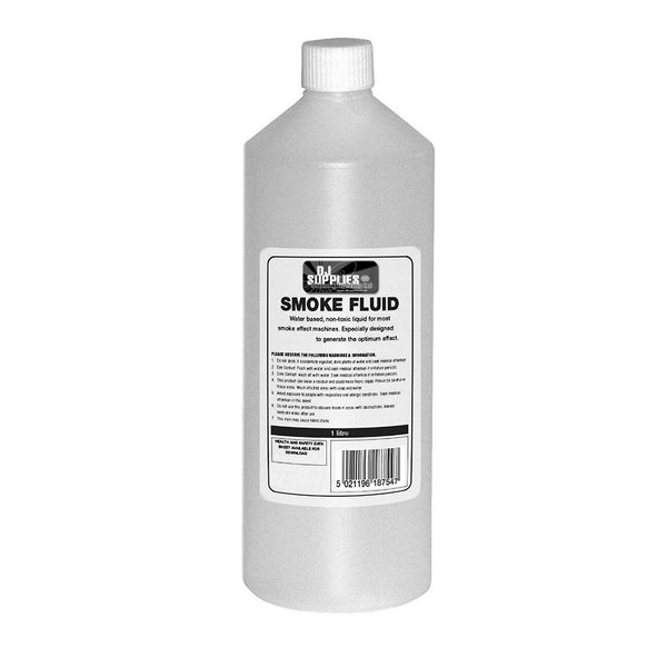 DJS Premium Smoke Fluid 1 Litre-Special Effects-DJ Supplies Ltd