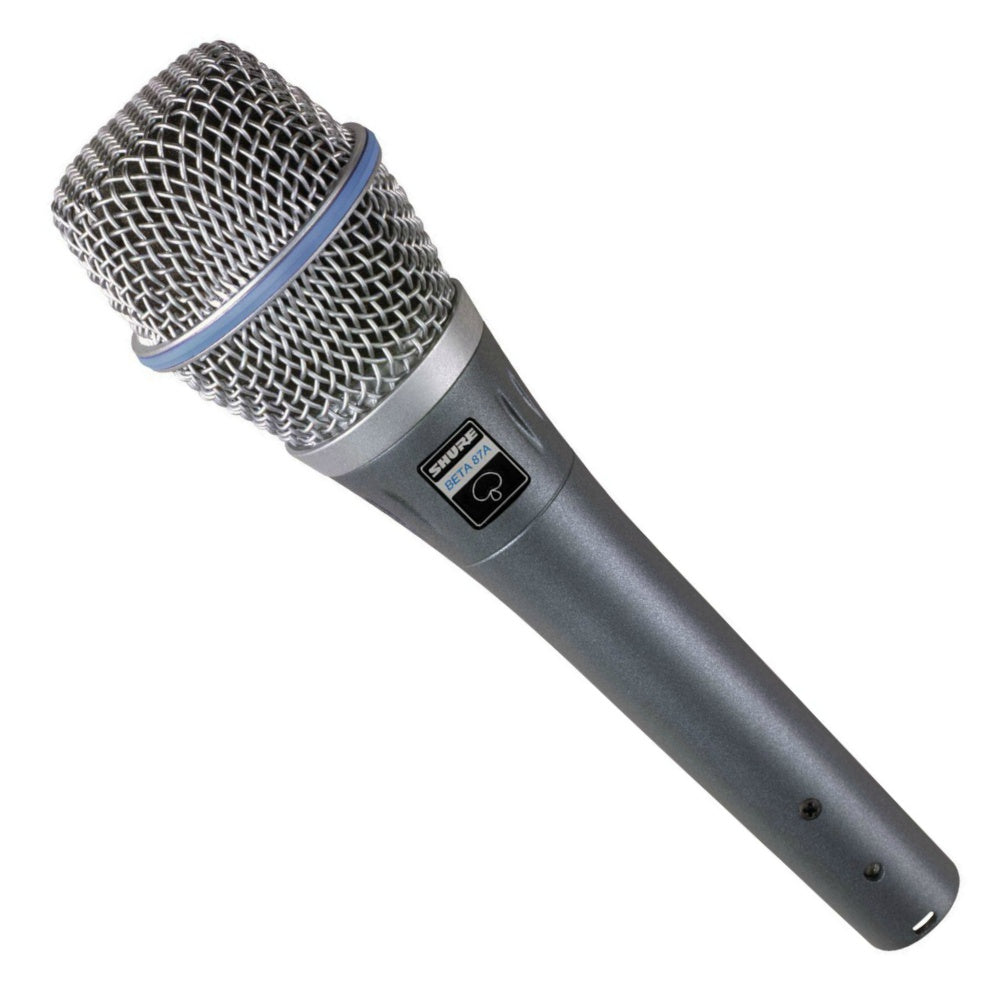 Shure Beta 87A Vocal Microphone-Microphones-DJ Supplies Ltd