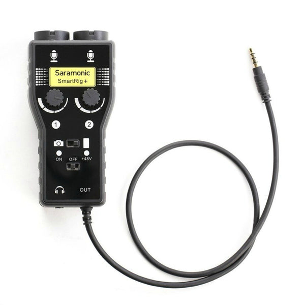 Saramonic Smart Rig+ Portable Mic Audio Interface-Digital DJ-DJ Supplies Ltd