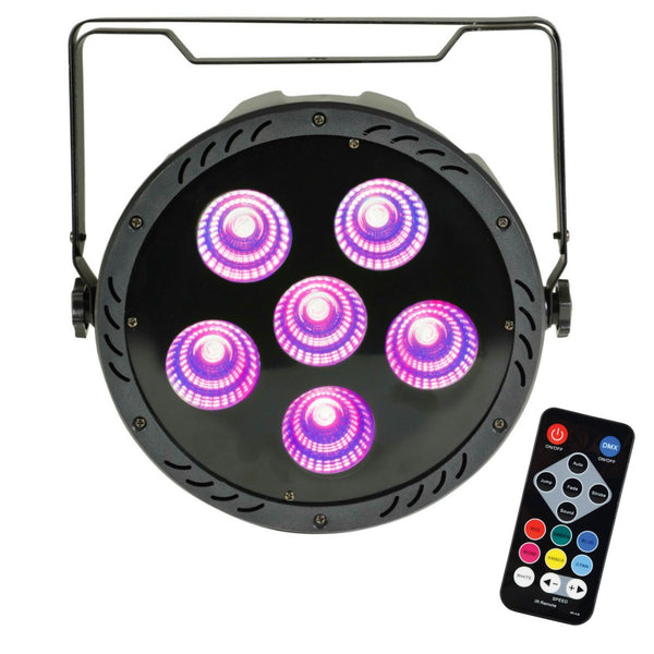 QTX High Power RGB COB Par with UV-Lighting-DJ Supplies Ltd