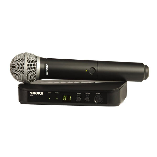 Ex Display Shure BLX24 PG58 Wireless Microphone-Wireless Microphones-DJ Supplies Ltd