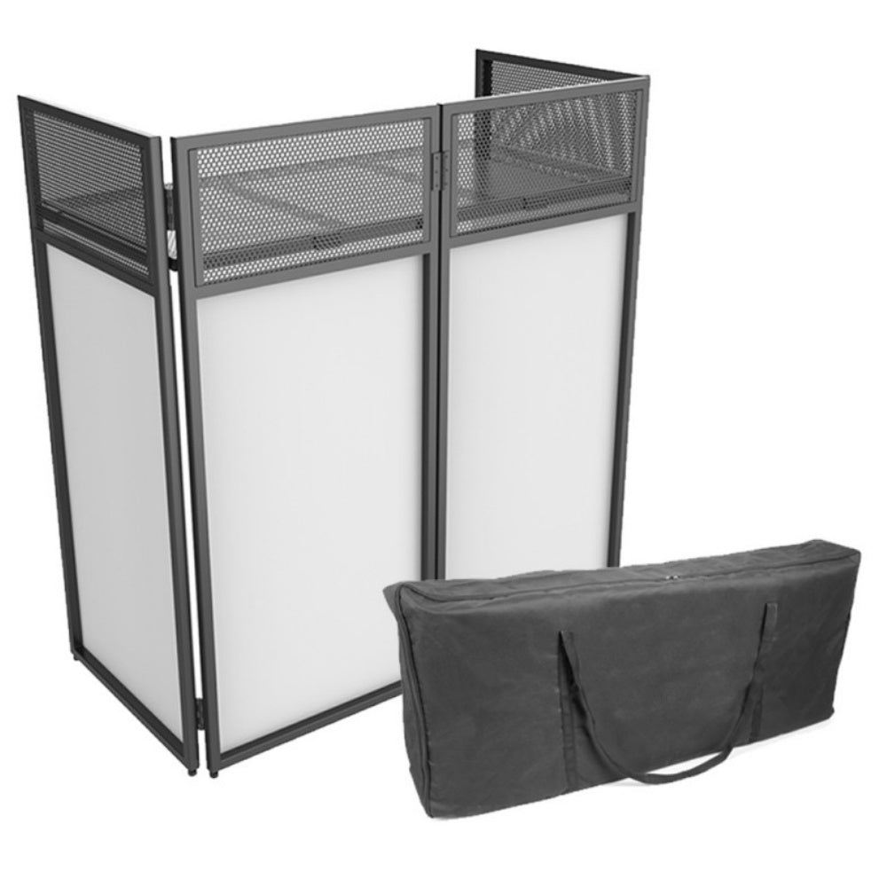 Ibiza Foldable Combi Booth-DJ Stands-DJ Supplies Ltd