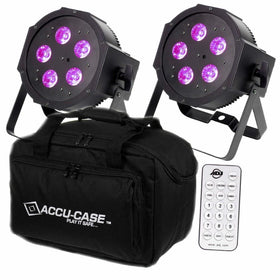 ADJ Battery Mega QPLUS Go 2 Pack-Lighting-DJ Supplies Ltd