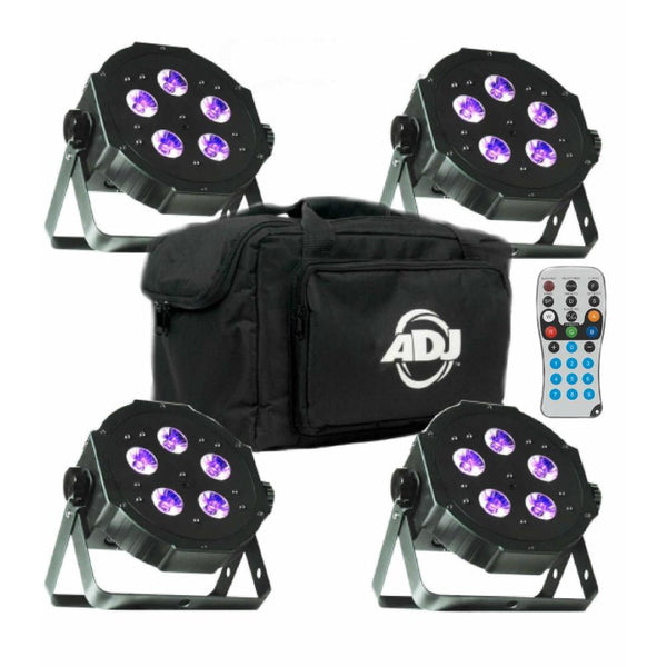 ADJ Mega Tripar Plus Uplighter 4 Pack-Lighting-DJ Supplies Ltd