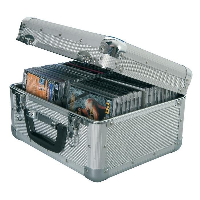 Aluminium 40 CD Flight Case-Cases-DJ Supplies Ltd