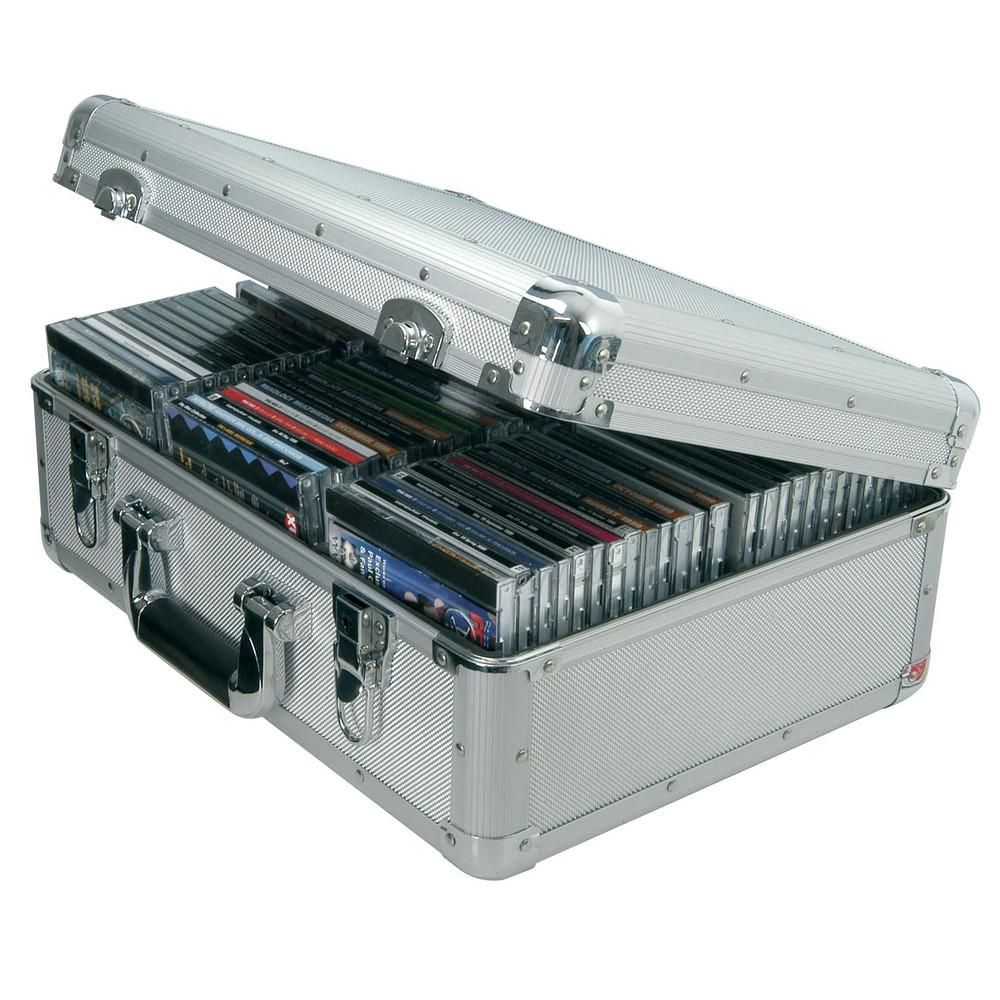 Aluminium 80 CD Flight Case-Cases-DJ Supplies Ltd
