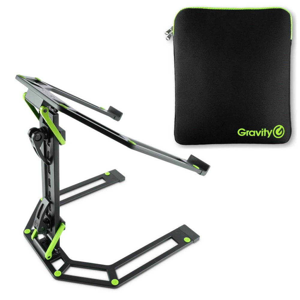 Gravity Laptop Stand LTS01B With Carry Bag-Stand Accessories-DJ Supplies Ltd