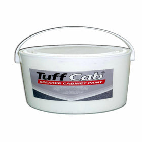 Black Tuff Cab Speaker Paint 1Kg-Accessories-DJ Supplies Ltd