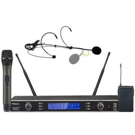 BST UDR300 Wireless Handheld and Bodypack Kit-Wireless Microphones-DJ Supplies Ltd