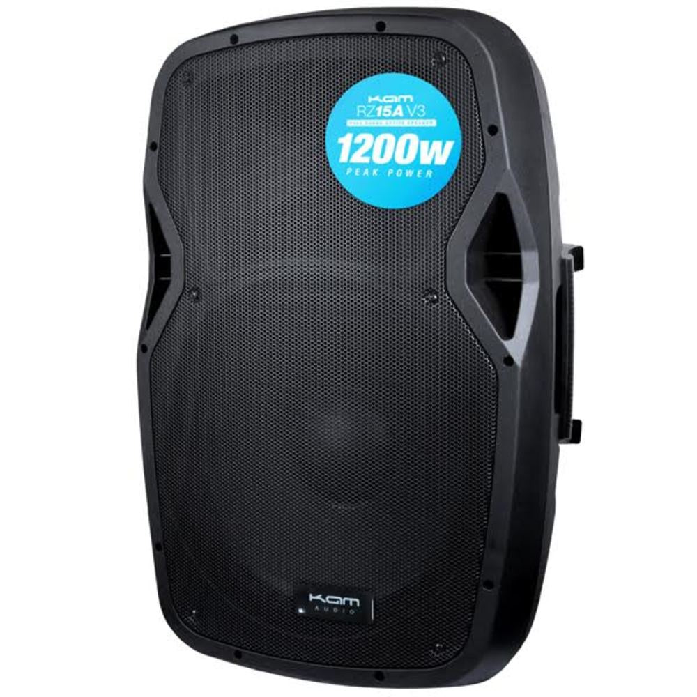 KAM RZ15A V3 1200w Active Loudspeaker-Active Speakers-DJ Supplies Ltd