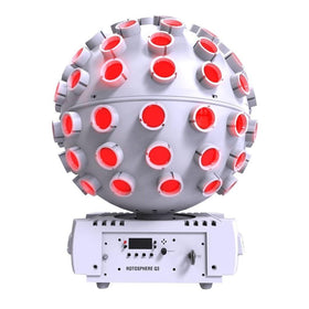 Chauvet White Rotosphere Q3-Lighting-DJ Supplies Ltd