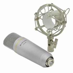 Citronic USB Studio Condenser Microphone-Microphones-DJ Supplies Ltd