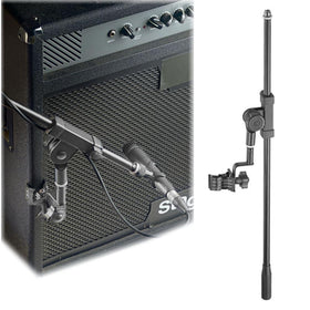 Clamp On Microphone Boom Arm-Mic Stands-DJ Supplies Ltd