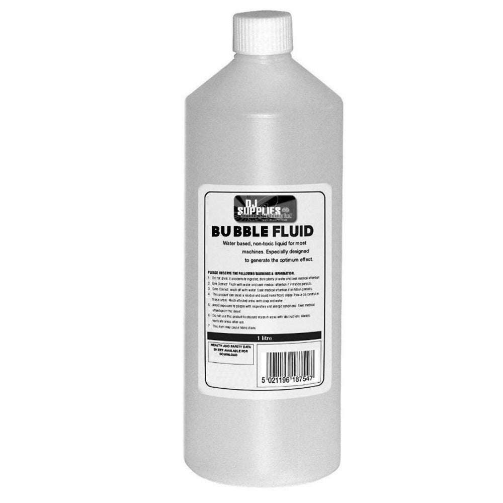 DJS Premium Bubble Fluid 1L-Special Effects-DJ Supplies Ltd