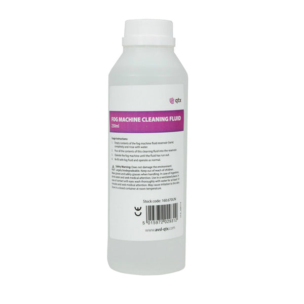Smoke Machine Cleaner 250ml-Special Effects-DJ Supplies Ltd