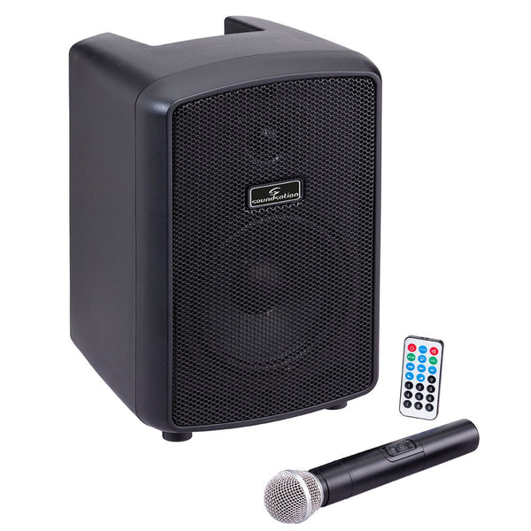 Hyper Play 6AMW Portable PA With Bluetooth-Active Speakers-DJ Supplies Ltd