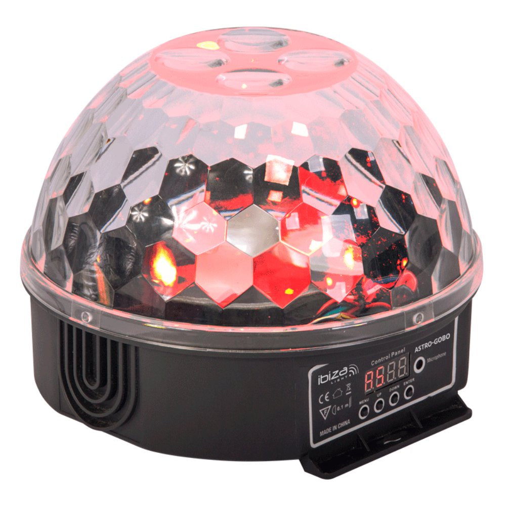 Ibiza Astro Gobo LED Dome Light-Lighting-DJ Supplies Ltd