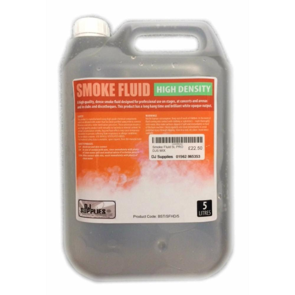 DJS Extra Dense Smoke Fluid 5L-Special Effects-DJ Supplies Ltd