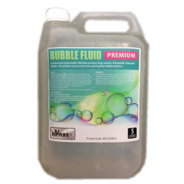 DJS Premium Bubble Fluid 5L-Special Effects-DJ Supplies Ltd
